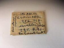 CUPILLARD 256,Axe De Balancier , Balance Staff