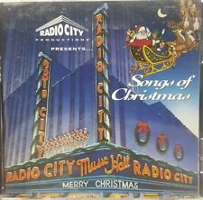 Radio City Music Hall Presents Songs of Christmas CD 1991 Epic Sony Music