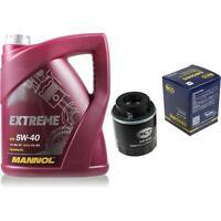 Ölwechsel Set 5L MANNOL Extreme 5W-40 + SCT Ölfilter Service KIT 10164200