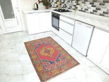 Turkish Unique 3x5 Rug Tribal Home Decor Turkish Vintage Antique Small Carpet