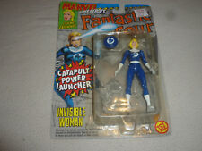 NEW ON CARD MARVEL FANTASTIC FOUR INVISIBLE WOMAN ACTION FIGURE TOY BIZ 1994 >>