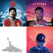 Chance The Rapper - Mixtape Collection CD Acid Rap Coloring Book 10 Day AcidRap