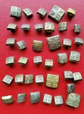 Lot Rare antique vintage metal buttons vtg