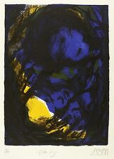 GREGOR TORSTEN KOZIK - VOLLENDUNG - Farblithografie 1989