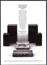 1973 Bang & Olufsen Beosystem 4000 Stereo System photo vintage promo print ad