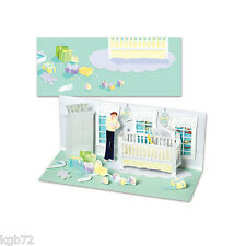 3D Baby's Room Pop Up Card Panoramic Greeting Card by Up With Paper Panoramics