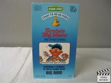Sesame Street Start-To-Read Video - Ernie's Big Mess and Other Stories VHS