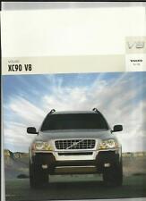 VOLVO XC90 V8 SALES BROCHURE 2005 GERMAN LANGUAGE