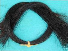 """1 Oz. 16""""  Black Horse Hair, Real Horsehair, Doll Hair"""