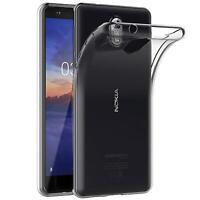 Handy Case für Nokia 3.1 Hülle Transparent Schutz Tasche Handyhülle Cover