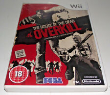 The House of the Dead Overkill Nintendo Wii PAL *Complete* Wii U Compatible