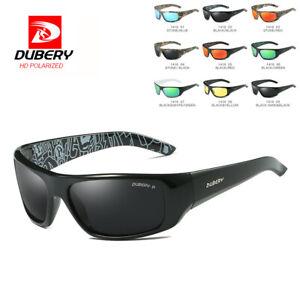 DUBERY Mens Vintage Polarized Sunglasses Outdoor Driving Shades Eyewear Shades