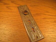 Hardware Brass Ornate Entry Door Lock Architectural Hardware Knob Escutcheon Snow Flake Architectural & Garden