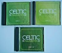 Celtic Favorites by Various Artists 3 Volumes (CD -2006, 3 Discs, Madacy)