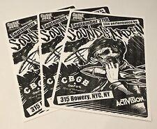 Soundgarden - Hollywood, CA 9/27/10 Guitar Hero Secret Show Poster 18x24 MINT