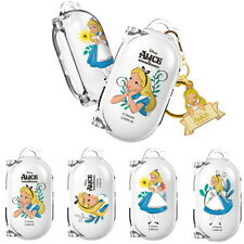 Pretty Clear Case with Alice Character for Samsung Galaxy Buds / Buds+ Plus