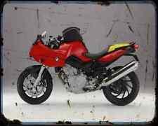 Bmw F800S 06 1 A4 Metal Sign Motorbike Vintage Aged