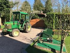 John Deere 1070 40hp Compact Tractor c/w Topper Link Box And Chain Harrows 4x4