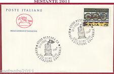ITALIA FDC IL CAVALLINO MANIFESTAZIONE QUELL'ULTIMO TRENO PESCARA 1988 Z238