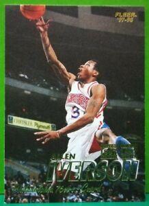 Allen Iverson regular card 1997-98 Fleer #3