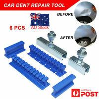 6pcs Slide Hammer Tool Puller Lifter Auto Body Paintless Dent Removal Repair Kit