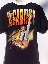Paul McCartney on the run 2011 concert tour 2 sided t-shirt sz XL Beatles Wings