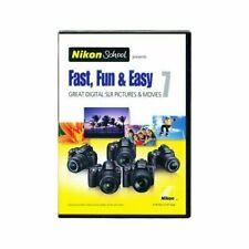 Nikon School Instructional Dvd – Fast, Fun & Easy 7 for D3000 D3100 D5000 D5100