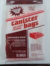 15 Pack Sears Kenmore Canister Vacuum Cleaner Bags 205055 20-5055