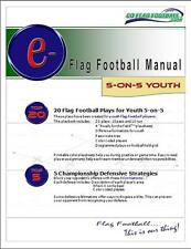 5 on 5 Flag Football Plays - Playbook with FREE TRAINING MANUAL