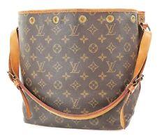 Authentic LOUIS VUITTON Petit Noe Monogram Shoulder Tote Bag Purse #37356