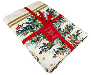 Williams Sonoma Twas The Night Before Christmas Tablecloth 70x108 Inches NWT