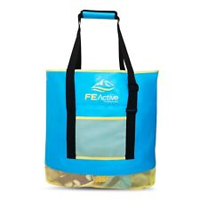 FE Active - 50 Liter Sand Free Beach Bag, Large Size for Towels, Toys and Snacks
