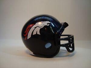 (1) Denver Broncos Riddell Pocket Pro Football Helmet, Traditional Style