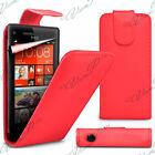 Housses etui coque pochette simili cuir pour Windows Phone 8S 8 S by HTC + films