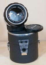 Nikon Nikkor-S 50mm f/1.4 Non-AI Lens in Very Good Condition and 100% Functional