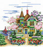 """Counted Cross Stitch Kit Make Your Own Hands M-35 - """"May Morning"""""""