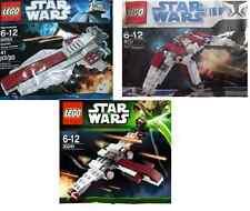 3xLEGO Star Wars The Clone Wars Republik Flotte 30053 30240 8031 im Polybeutel