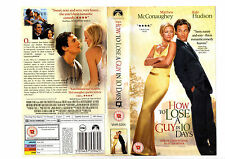HOW TO LOSE A GUY IN 10 DAYS--VHS RARE COVER---VHS COVER ONLY