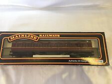MAINLINE RAILWAYS 57 CORRIDOR COACH BR MAROON RN M 3542 M CAT NO 37115 00 GAUGE