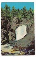 BROWNSTONE FALLS Bad River Gorge Copper State Park MELLEN WISCONSIN Postcard WI