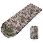 Polyester Ultralight Adult Single Envelope Sleeping Bag Camping Hiking Carrying