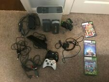 Xbox 360 White Bundle (Kinect - 2 Controllers - 60 & 20 GB HDD - Fans - 3 Games)