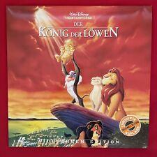Laserdisc Der König der Löwen - Walt Disney / PAL / LD