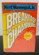 BREAKFAST OF CHAMPIONS by KURT VONNEGUT, JR.  HCDJ