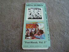 Minutemen Buzz or Howl / Project Mersh Long Box Only - No Disc - No CD