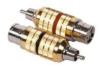 CARDAS AUDIO, Clear CGA, Female XLR to Male RCA Adapter Plugs, FXLR-MRCA (Pair)