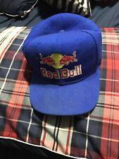 Redbull Athlete Snapback White Red Baseball Hat Cap Black X Games Adjustable