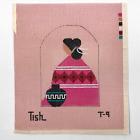 "Tish Zuni Woman Needlepoint Canvas Sundance Designs 18 ct 5.75""x6.5"""