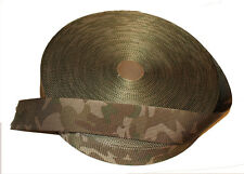"""Double Sided MTP /Multicam Camouflage Military Spec 50mm / 2"""" Webbing - UK Woven"""