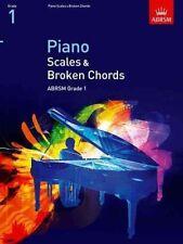 ABRSM Pianoforte SCALE & Broken Chords, Grade 1-lo stesso giorno P + P